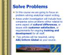 solve problems5