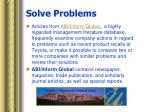 solve problems6