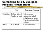 comparing silo business process perspectives