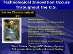technological innovation occurs throughout the u s73
