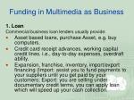 funding in multimedia as business5