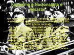 fascismo nacionalista e racista