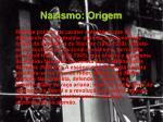 nazismo origem