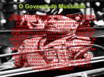 o governo de mussolini12