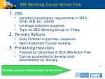 bee working group action plan