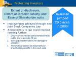 protecting investors