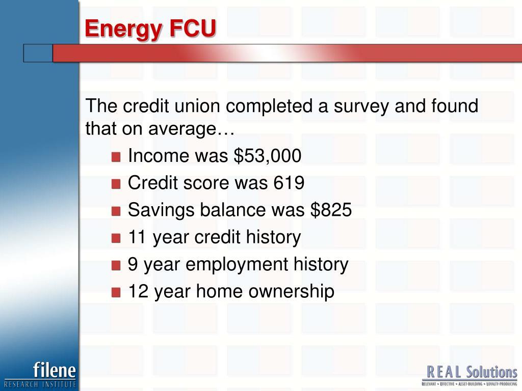 Energy FCU