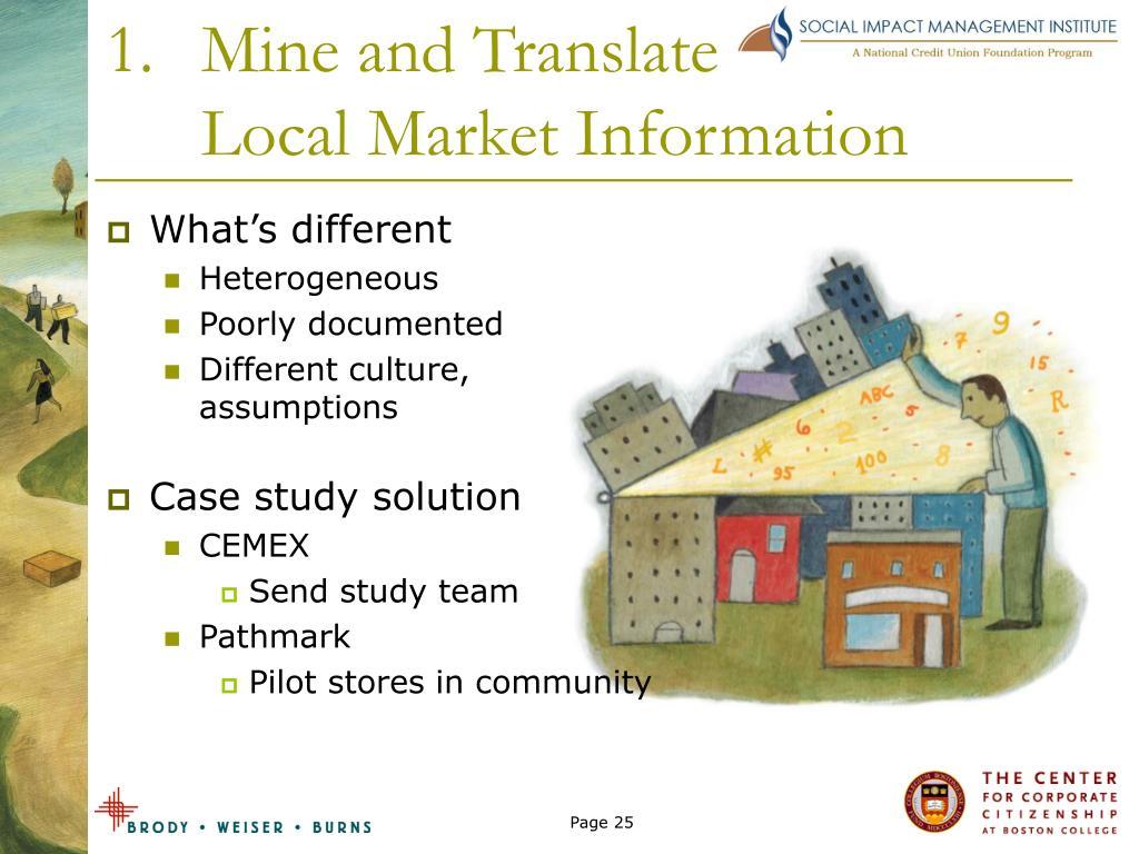 Mine and Translate
