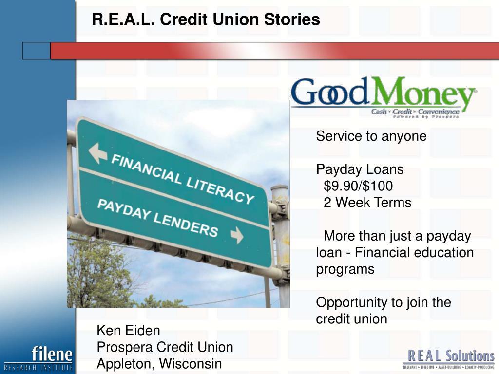 R.E.A.L. Credit Union Stories