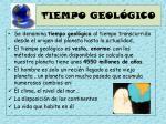 tiempo geol gico