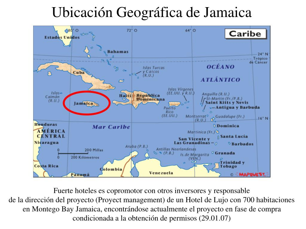 ubicaci n geogr fica de jamaica l.