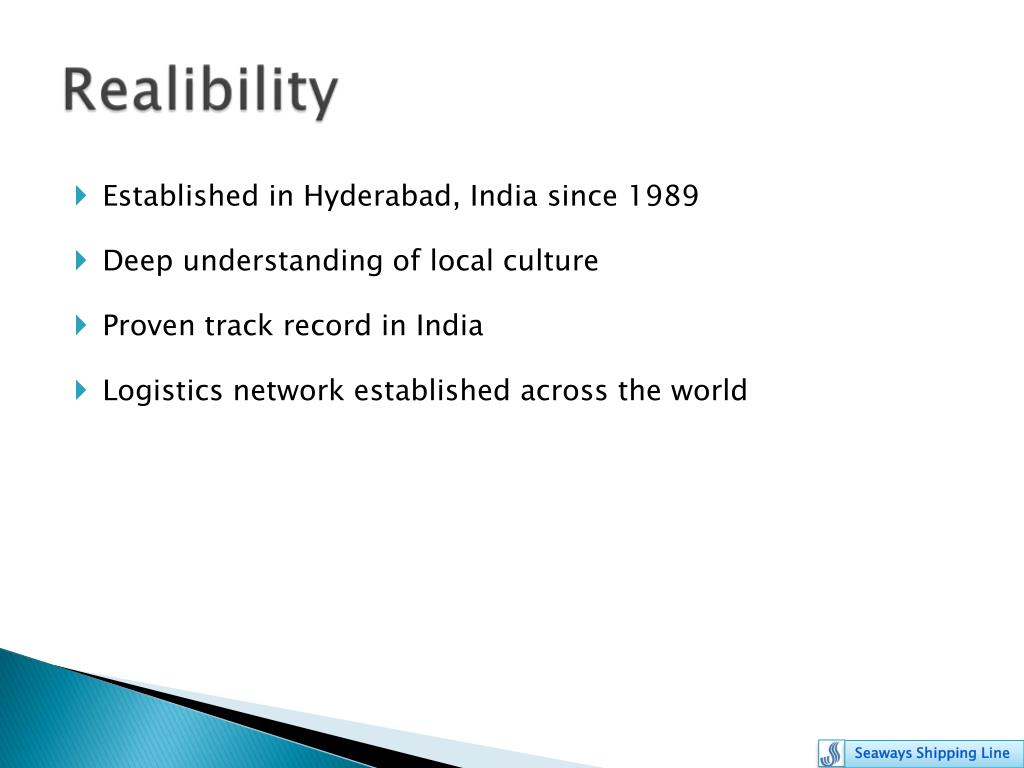 Established in Hyderabad, India since 1989