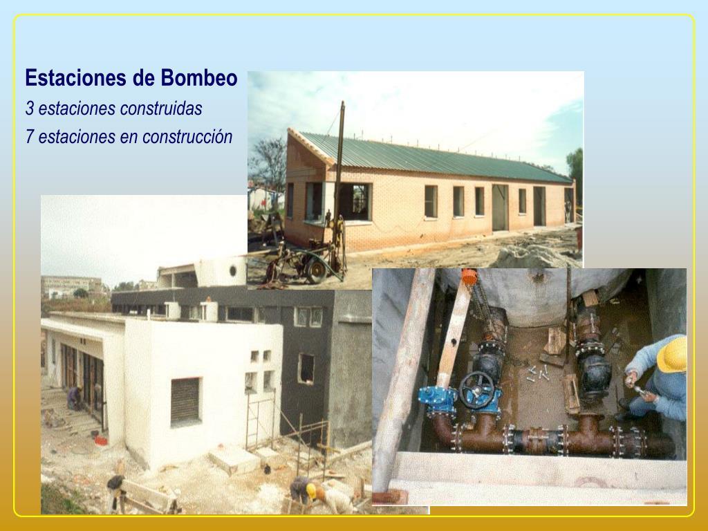 Estaciones de Bombeo