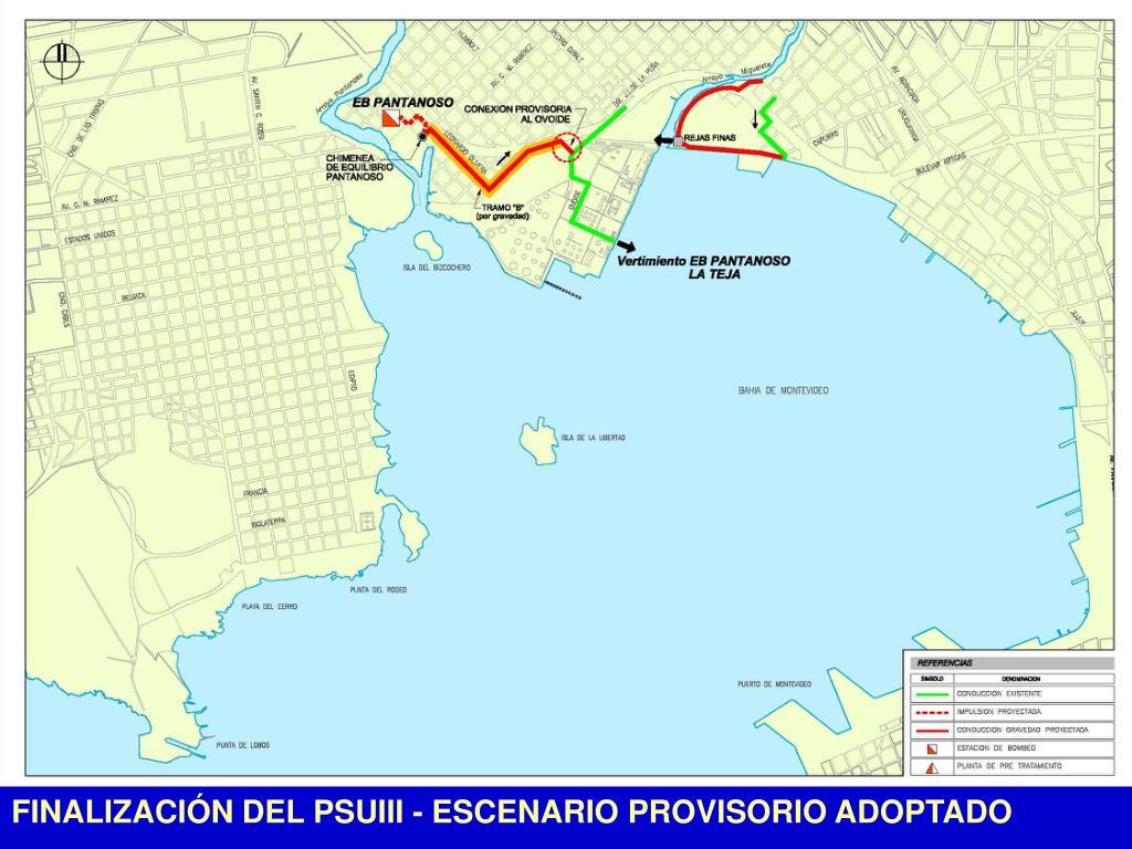FINALIZACIÓN DEL PSUIII - ESCENARIO PROVISORIO ADOPTADO