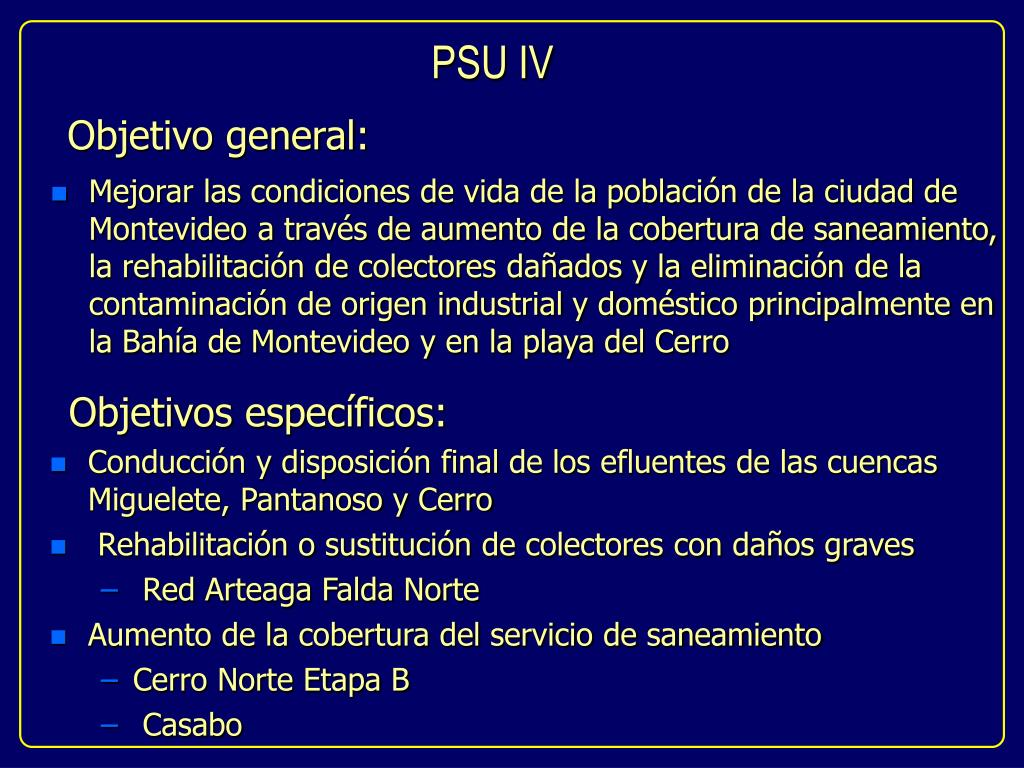 PSU IV