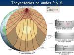 trayectorias de ondas p y s