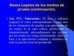 bases legales de los medios de prueba continuaci n20