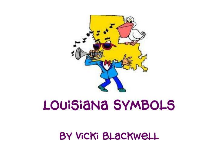 louisiana symbols n.