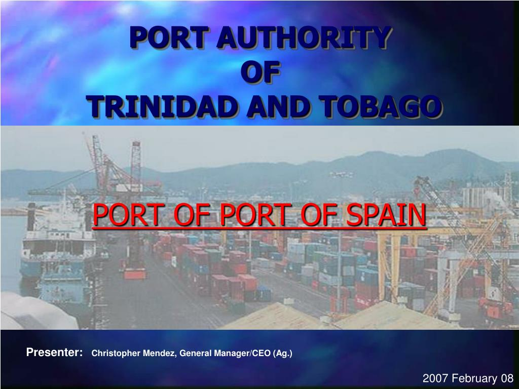 port authority of trinidad and tobago l.