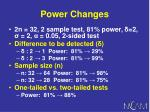 power changes12