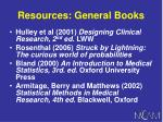 resources general books