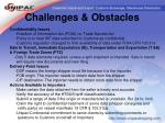 challenges obstacles