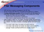 filer messaging components