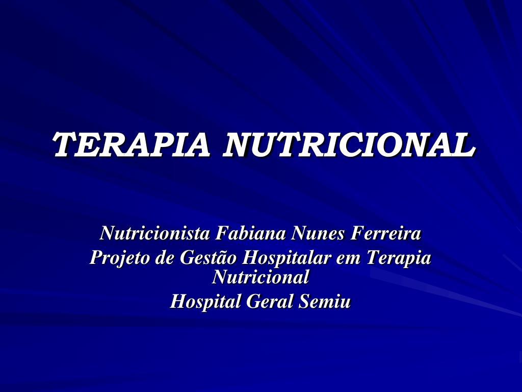 terapia nutricional l.