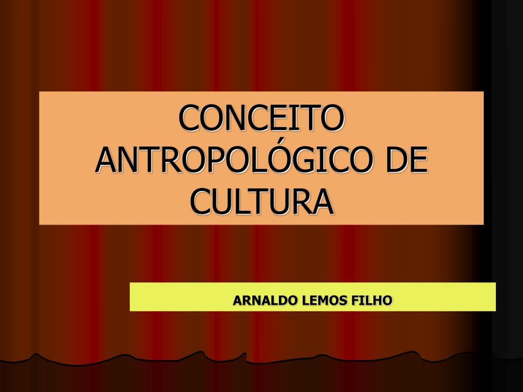 conceito antropol gico de cultura l.