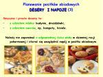 planowanie posi k w obiadowych desery i napoje 3
