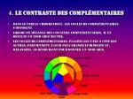 4 le contraste des compl mentaires