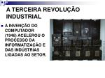 a terceira revolu o industrial
