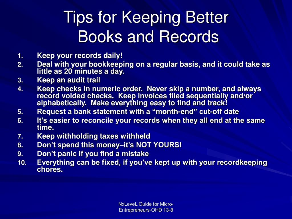 Tips for Keeping Better