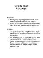 metoda ilmiah rancangan61