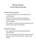 metoda ilmiah unsur metoda ilmiah3