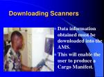 downloading scanners