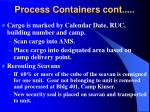 process containers cont