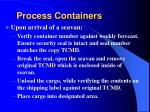 process containers