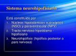 sistema neurohipofisiario