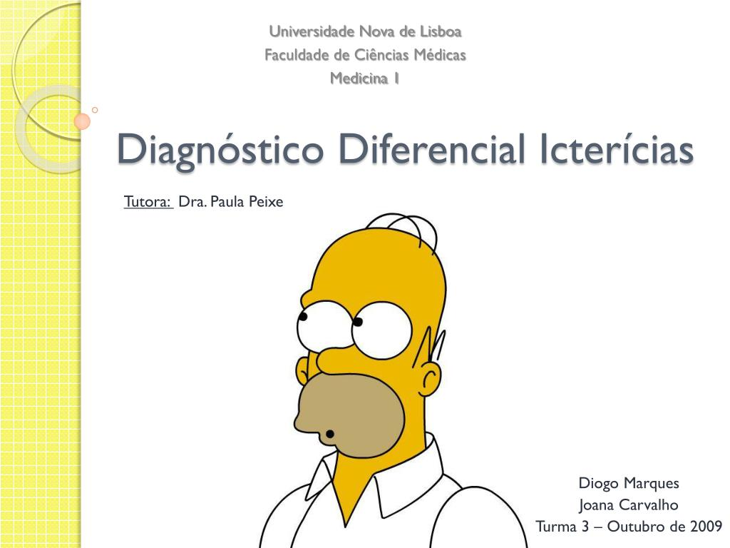 diagn stico diferencial icter cias l.