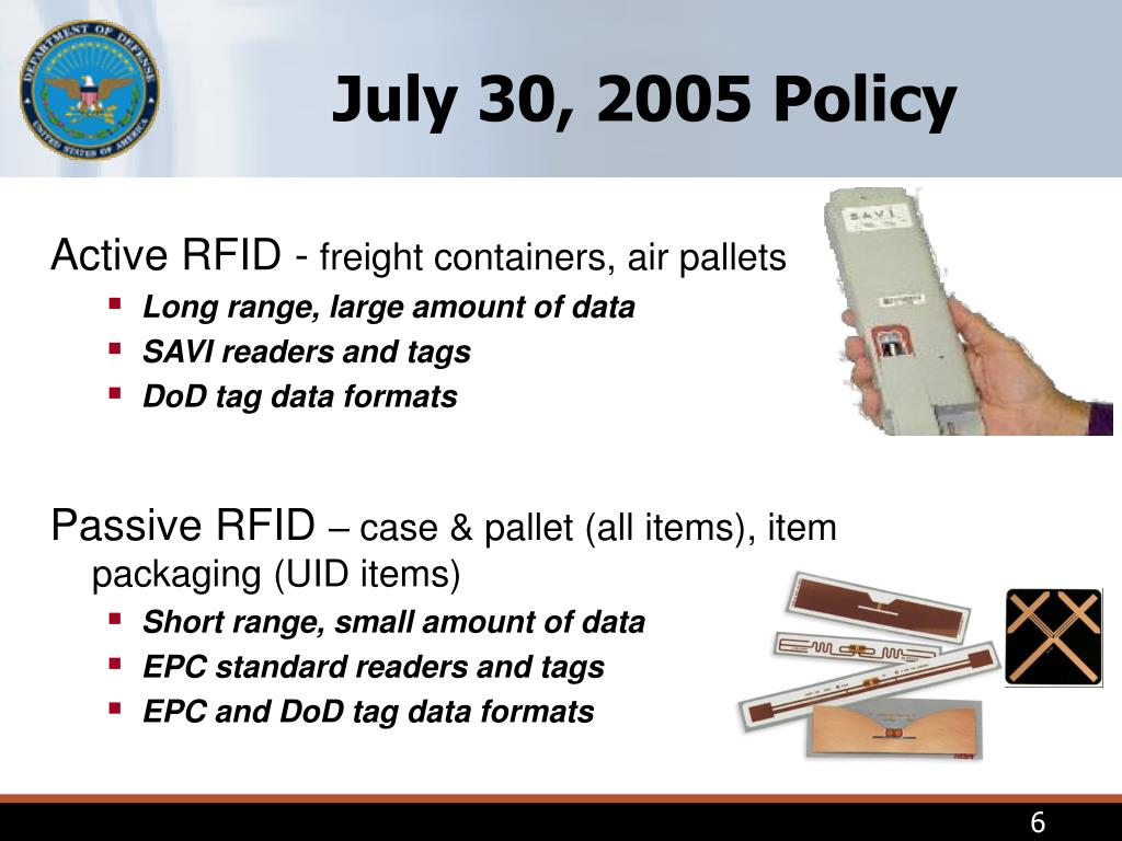 July 30, 2005 Policy