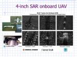 4 inch sar onboard uav