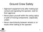 ground crew safety73