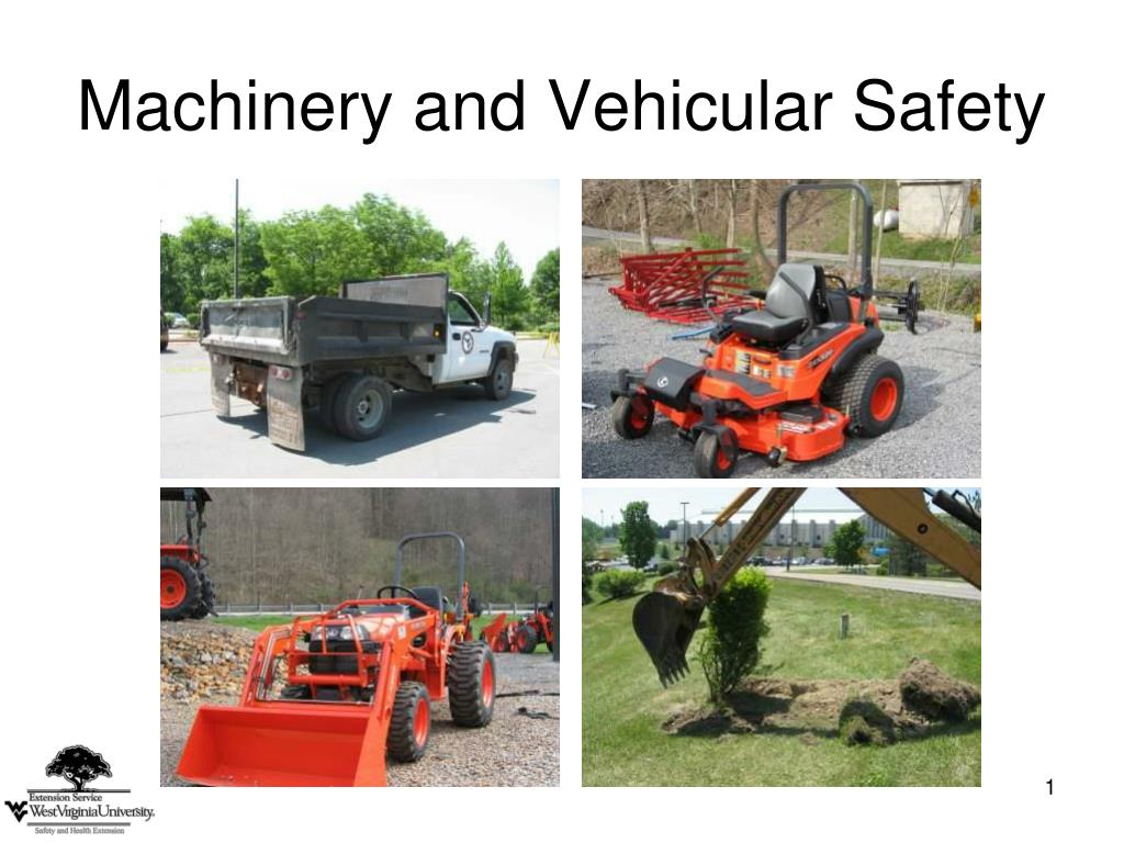 machinery and vehicular safety l.