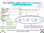 the jcpds cards in the pdf 2 database