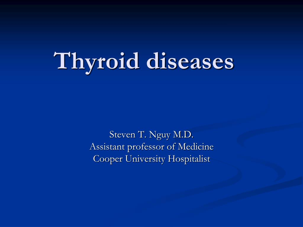 thyroid diseases l.