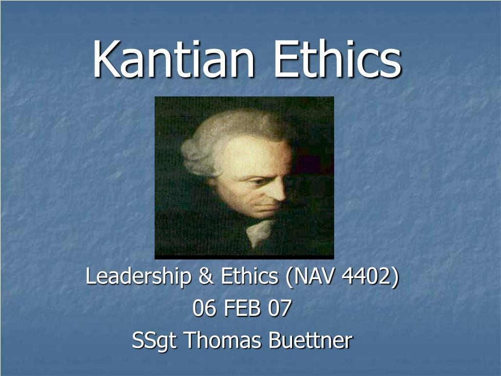 kantian ethics l.