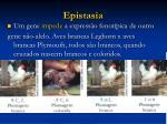 epistasia