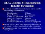 nepa logistics transportation industry partnership10