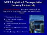 nepa logistics transportation industry partnership4